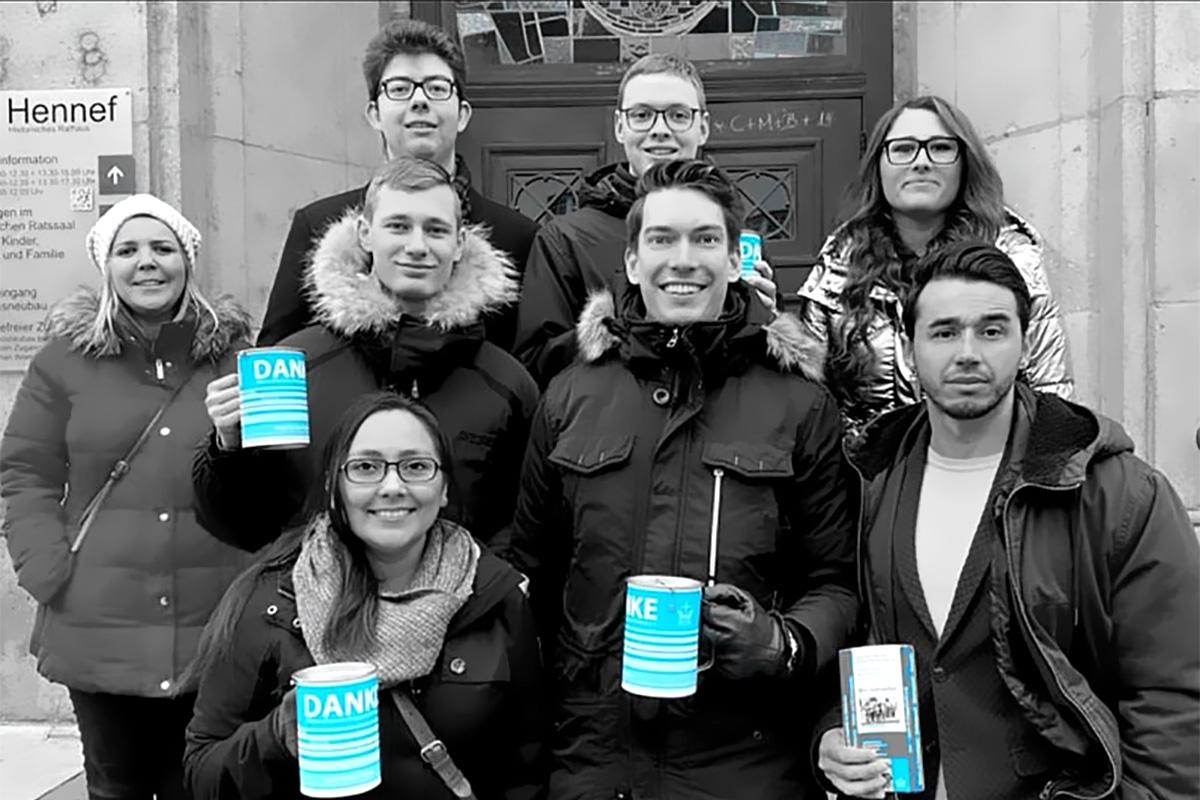 Junge Union sammelt für die Kriegsgräberfürsorge
