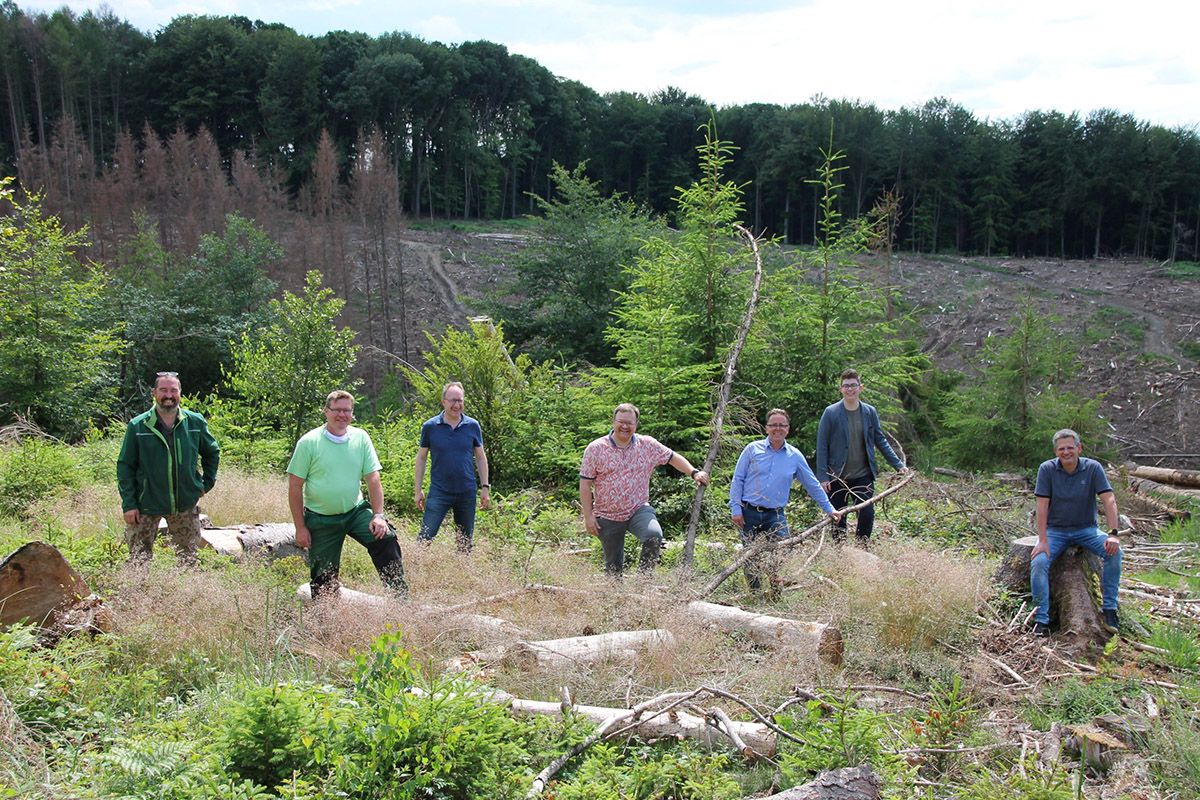 CDU Hennef pflanzt 1500 Bäume