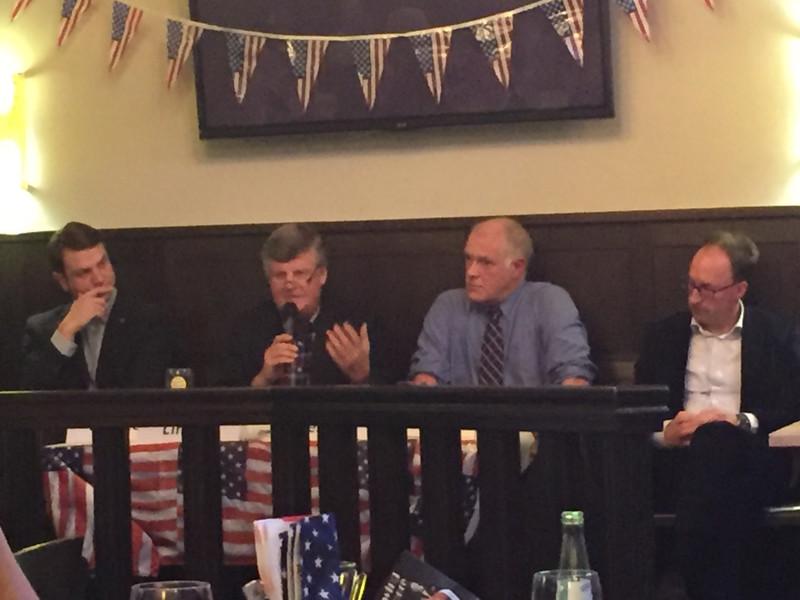 Björn Franken, Hans Peter Lindlar, Dr. Andrew Denison und Thomas Wallau (v.l.n.r.)