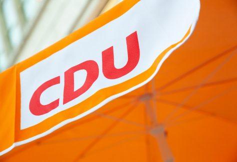 CDU Sonnenschirm