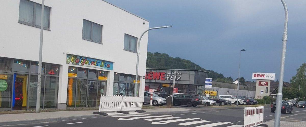 Neuer Zebrastreifen auf der Bonner Straße